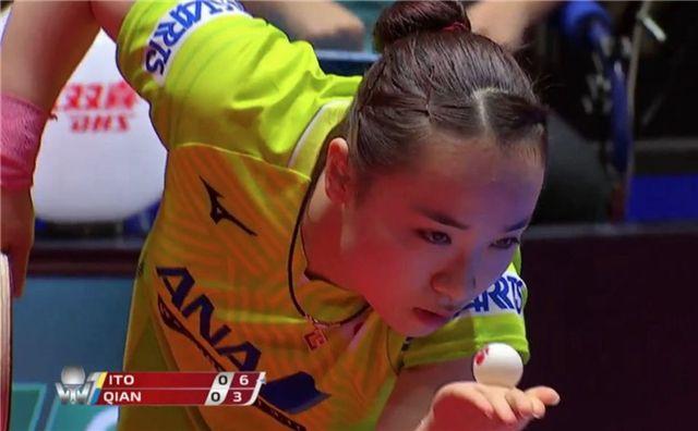 被伊藤美诚吓住了!国乒世青赛冠军0-4耻辱惨败 丁宁恩师喊不醒她