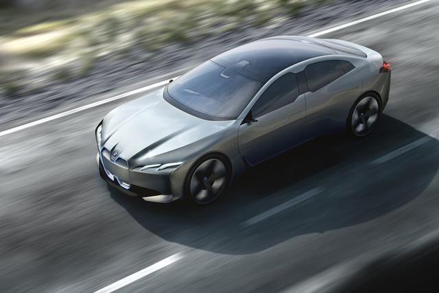 功率超530hp 宝马首款电动轿车马力超M3