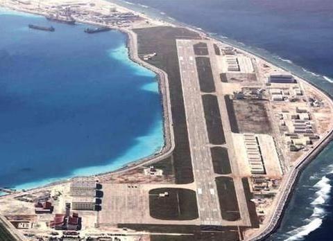 南海岛礁现状:美济岛已成第一大岛,与永暑岛、渚碧岛互为犄角
