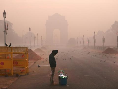 卫星地图上找不到首都,印度向空气污染宣战