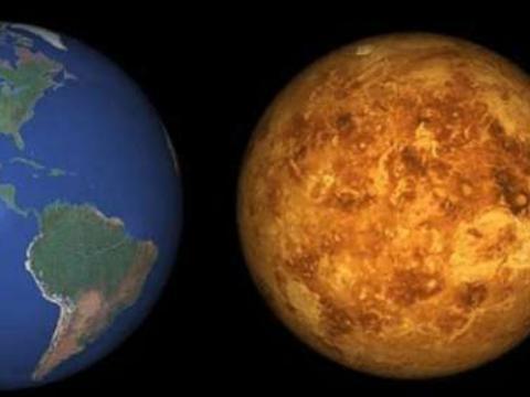 """金星被誉为""""地狱"""",竟可能存在生命?科学家:或早于地球"""