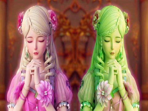 叶罗丽:真假灵公主,复活生命的代价,灵公主产生出黑暗一面