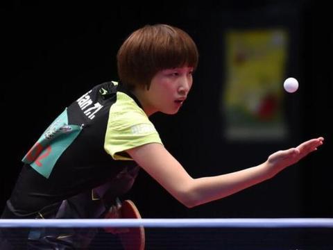 奥公赛国乒女单抗日第4胜 钱天一末局打出逆天运气球将战伊藤美诚