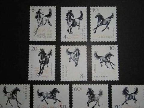 """奔马邮票""""奔出""""的价值,你有收藏这套邮票吗,涨幅上倍"""
