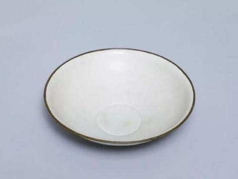 东京国立博物馆里的定窑瓷器