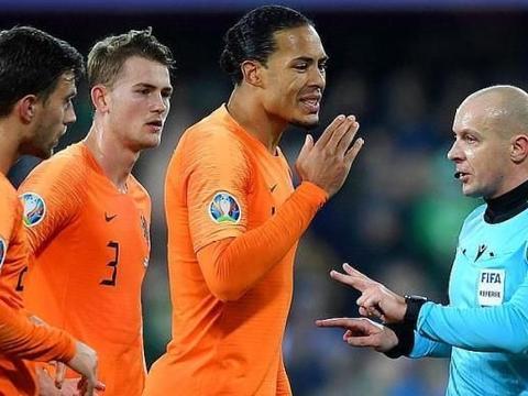 欧预赛爆冷0-0!荷兰客场闷平晋级,对手全场0射正还罚丢点球
