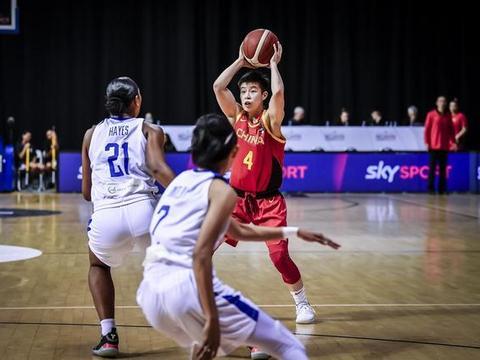 女篮奥预赛-韩旭26分王雪朦14+11 中国大胜菲律宾晋级最终阶段