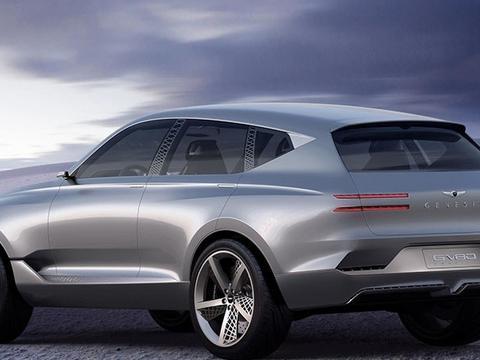韩系新车型,配22英寸大屏幕,未来感的设计,火爆北美