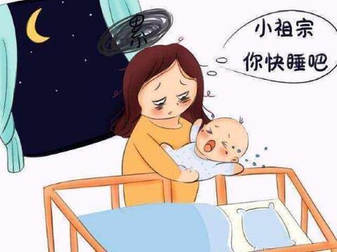 宝宝睡前突然大声哭闹,7个原因需谨慎