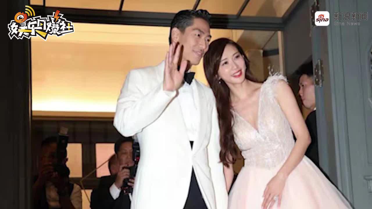 视频:林志玲身着粉色深V现身晚宴 依偎AKIRA身边画面甜蜜