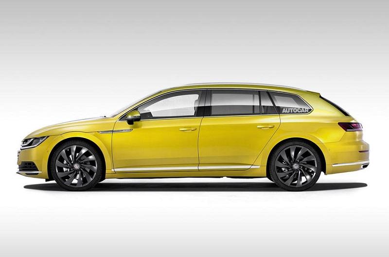 首台一汽-大众CC猎装版下线 预计一年左右投入量产