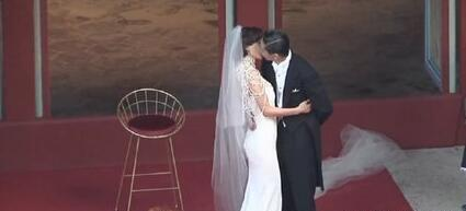 林志玲婚礼致辞落泪,袁弘夫妇、蔡康永出席现场