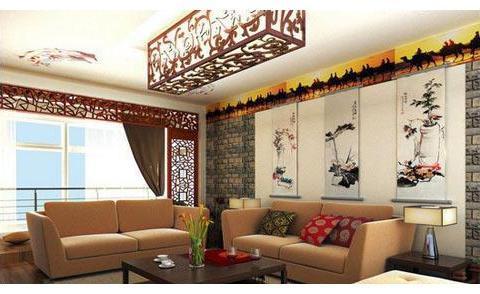 还能这么美 中式风格背景墙装修诀窍