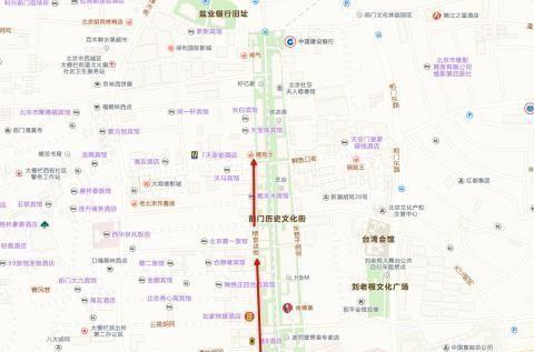 北京前门大街并非都是旅游特征
