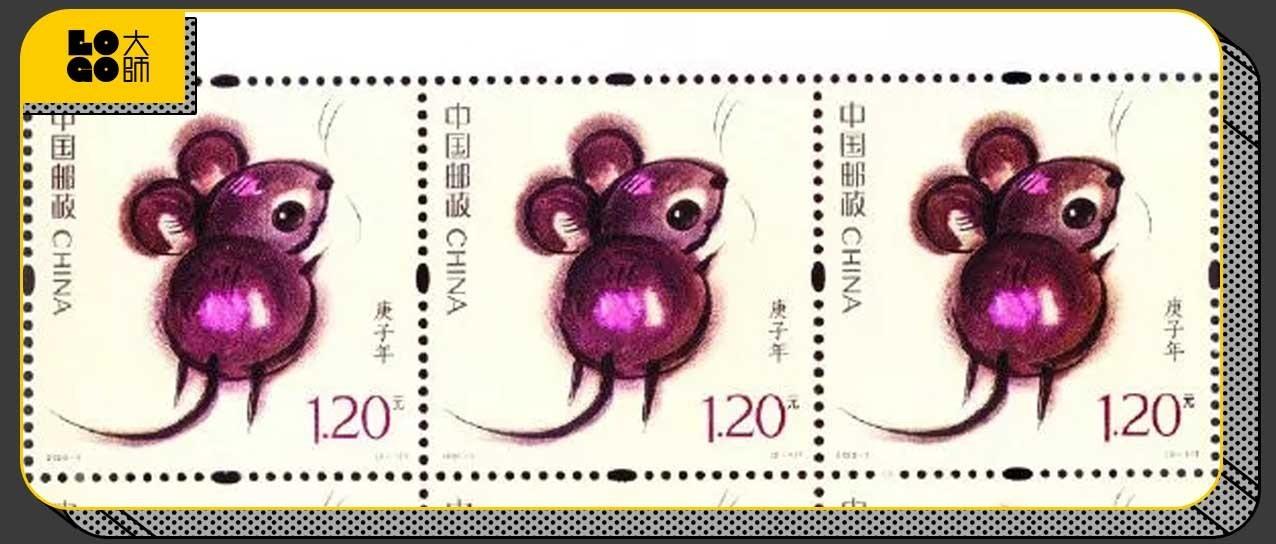 2020鼠年邮票发布,由韩美林大师设计!