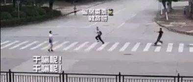 晨跑时,他顺便制止了一桩可能发生的血案...(附视频)