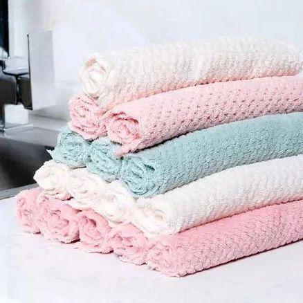 好毛巾不发臭!毛巾糕点般松软,抑菌抗螨,8倍吸水