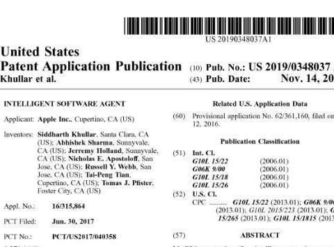苹果申请新专利:Siri或可分析用户表情解读情绪