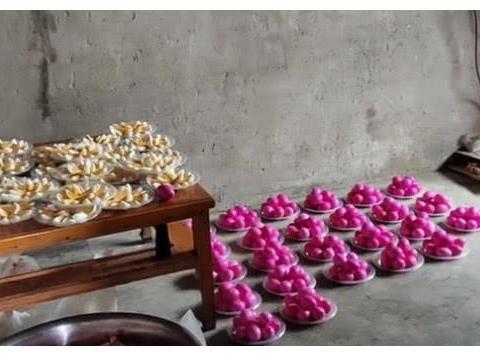 河南农村流水席,一桌3百元都是特色菜,图2这道菜城里人吃不惯