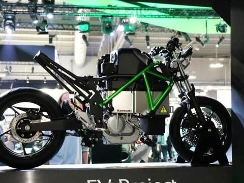 川崎发布电摩EV Project,小忍者外观,20kw四档变速,100km续航