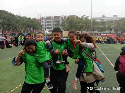 岳阳市举办首届特殊儿童亲子趣味运动会