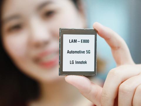 LG推出全球第一款基于高通技术的5G车载通信模块