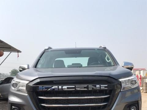 四种动力三种变速箱,首台长安高端皮卡凯程F70实车现身