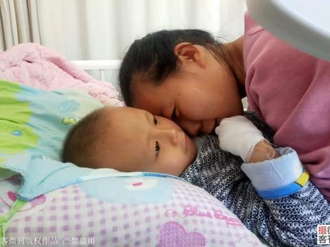 男童长罕见肿瘤复发5次 病房哭喊:妈妈,不要切掉我的手,我怕疼