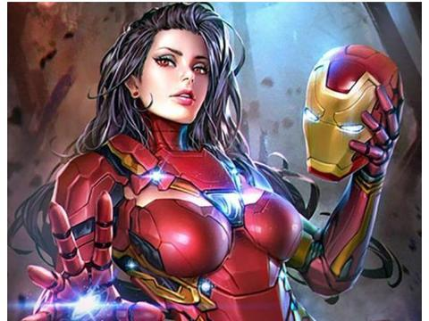 当漫威超级英雄换了画风,钢铁侠变成御姐,蚁人的样子好萌!