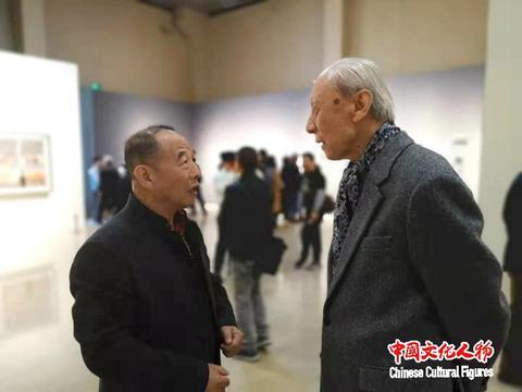 韩玉臣与杨飞云 张晓凌 尚辉等专家学者在央视探讨世界艺术新风向