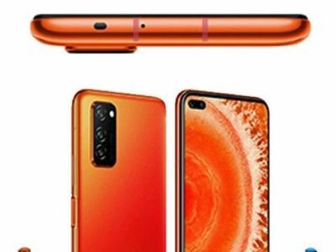 荣耀V30渲染图确认了该手机是双打孔屏!