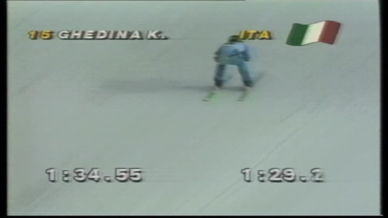 滑雪大神Ghedina纪录短片