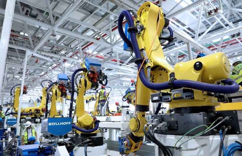 新工厂、新产品、新能源未来看上汽大众