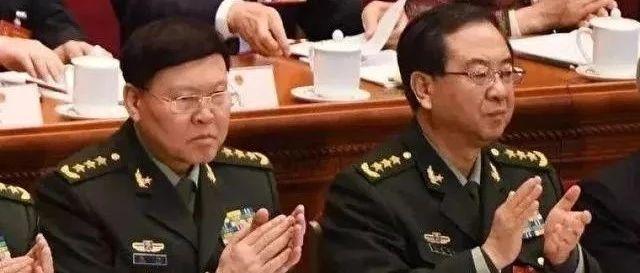 中央军委再批郭伯雄、徐才厚、房峰辉、张阳