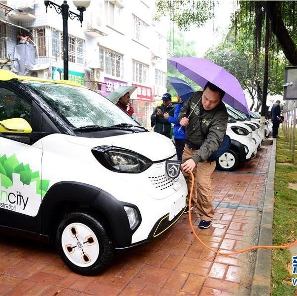 让电动汽车充电像加油一样方便!2035年柳州将建成充电站45座