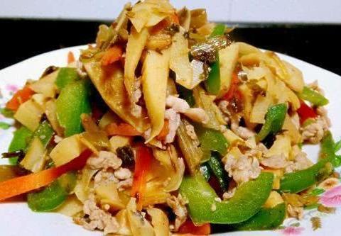 美食推荐:炒杂蔬,嫩滑鱼片,油焖二鲜,辣炒五花肉