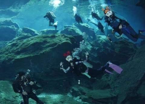 世界上最特殊博物馆:位于加勒比公海之下,想参观首先得会潜水