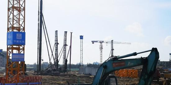 中建三局总承包公司中共海南省委党校项目桩基工程顺利完成施工