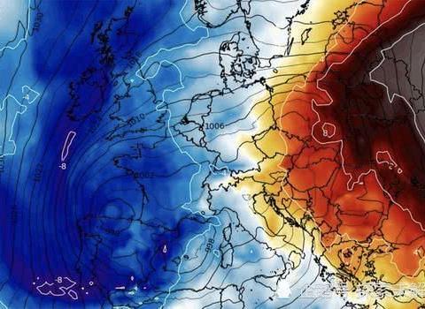 """地球""""降温""""前奏!北极风暴来袭,零下30度的暴风雪将横扫欧洲"""