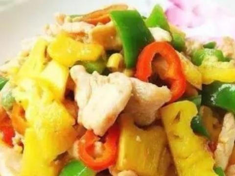精选美食:香卤虾、西兰花炒豆腐、炒熏牛肉、菠萝鸡片的做法