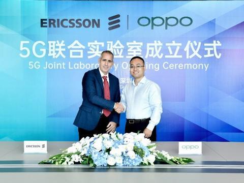 OPPO与爱立信成立5G联合实验室 持续深化5G领域研发合作
