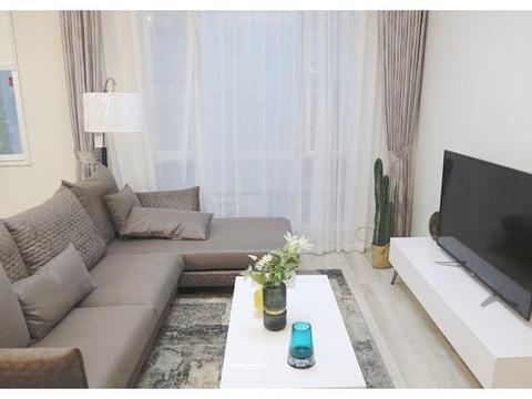 81平米的房子装修只花了18万,现代风格让人眼前一亮!