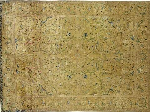 别墅、豪车彰显富豪身份?更具文化内涵的古董手工地毯才是最爱