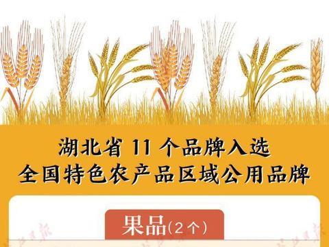 武当道茶等11项湖北农产品入选中国农业品牌目录