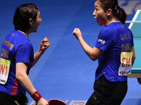 乒乓球世界杯中国女团3:0胜日本夺冠