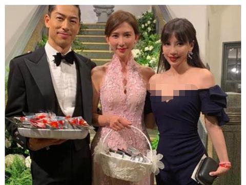 """林志玲婚礼上的高情商,小S太识趣,李靓蕾却比新娘还""""美"""""""