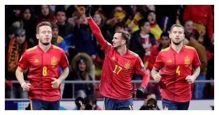 杰拉德-莫雷诺双响+造乌龙,西班牙5-0罗马尼亚