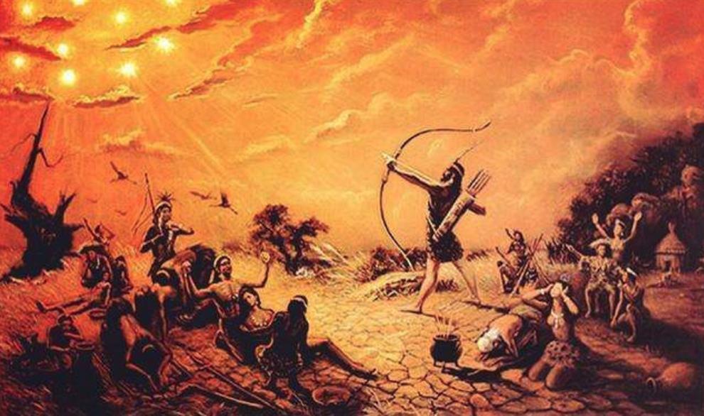 后羿射日并非神话,上古时期的10个太阳,预示地球上的一场灾难