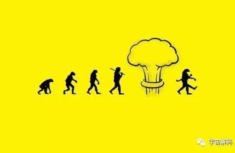 人类进化并非达尔文的渐进式进化论,而是跳跃式进化论
