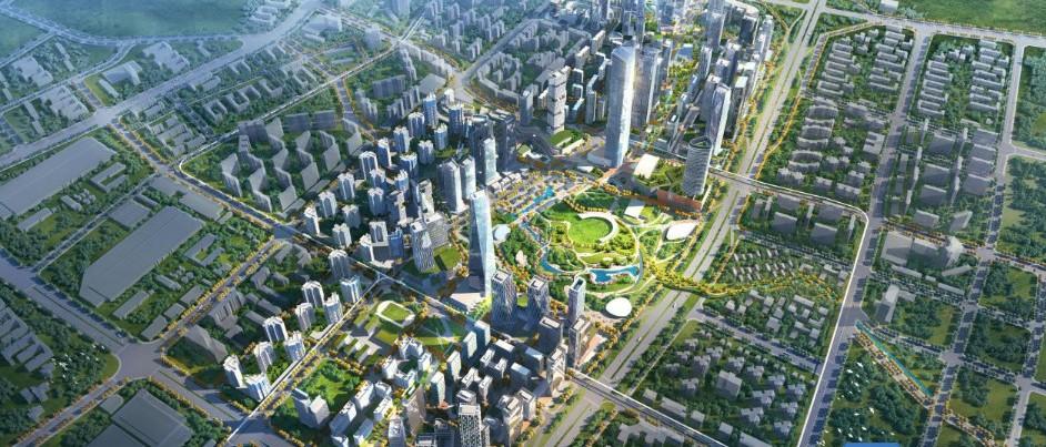 东莞CBD唯一城中村水涧头村原址将建中央公园!